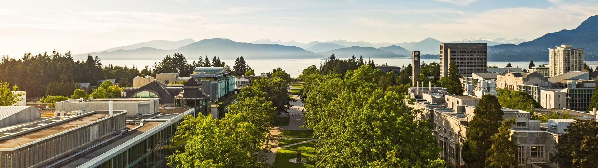 UBC Vancouver Panorama