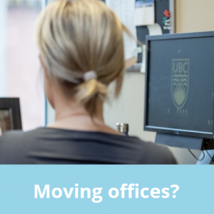 Moving? Use the new IT Equipment Move Request Form